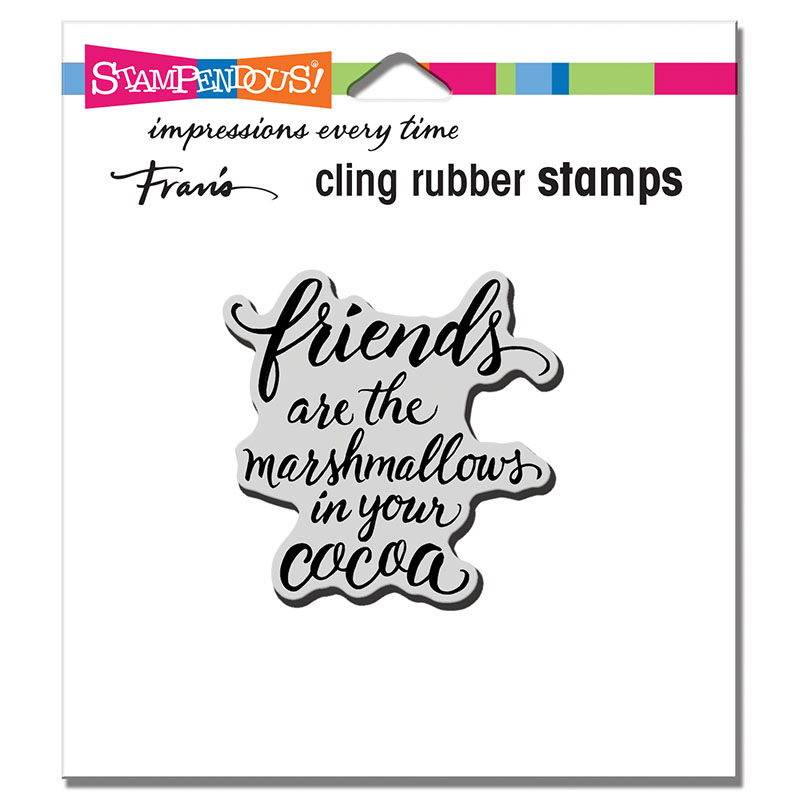 Stampendous Marshmallow Friends Cling Stamp