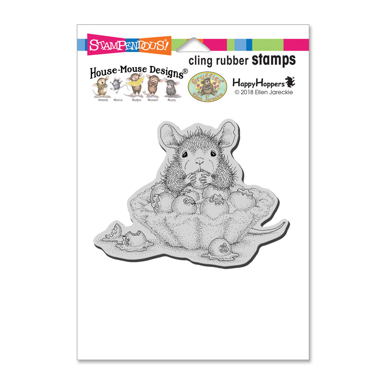 Stampendous House Mouse Blueberry Tart