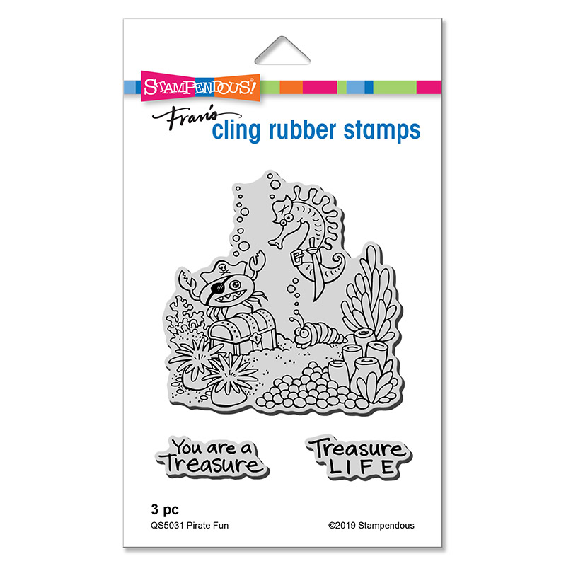 Cling Rubber Stamp Cling Rocco Reach
