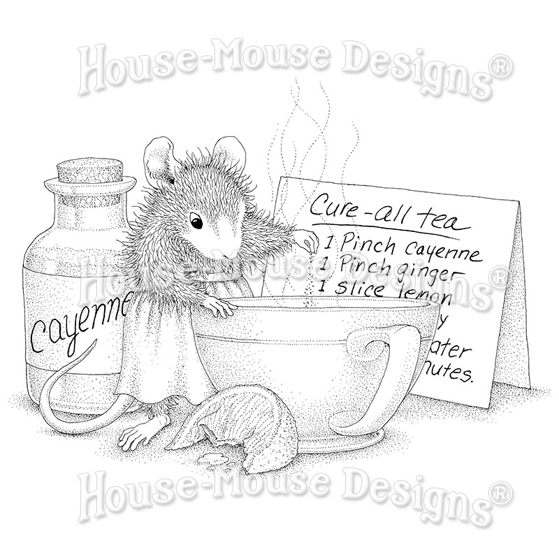 Stampendous HMP107 Rubber Stamp