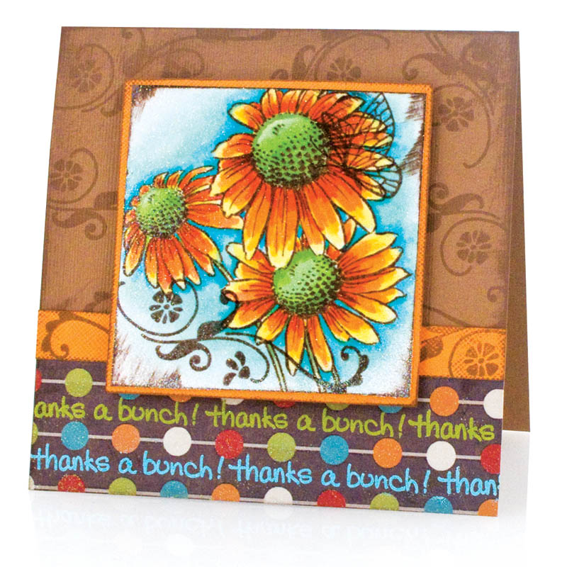 Daisy Thanks Perfectly Clear Stamps Set