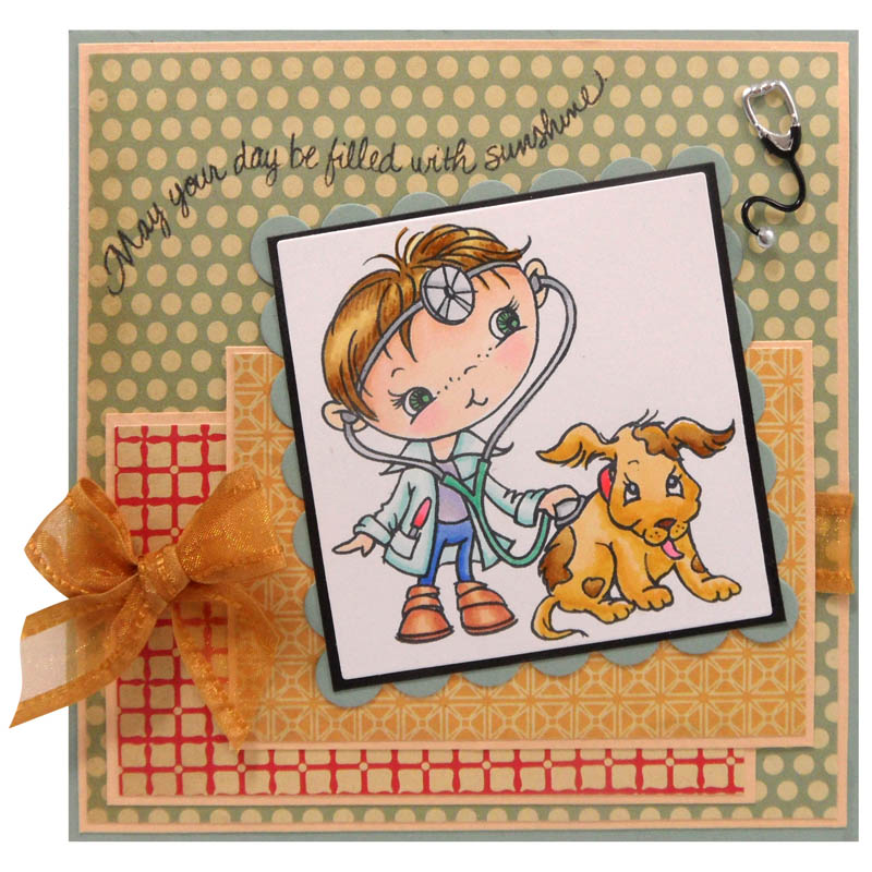STAMPENDOUS Thoughtful Wishes Perfectly Clear Stamps