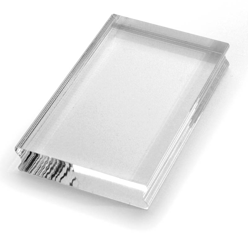 Perfectly Clear Acrylic Stamp Handle
