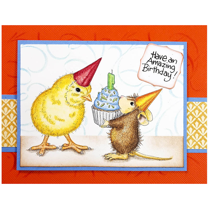 House-Mouse Designs® Birthday by Jamie Martin - Stampendous on house mouse design time, house cleaning services business cards, house mouse christmas,