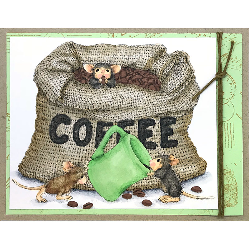 House-Mouse® Designs Coffee Break by Lea Fritts - Stampendous