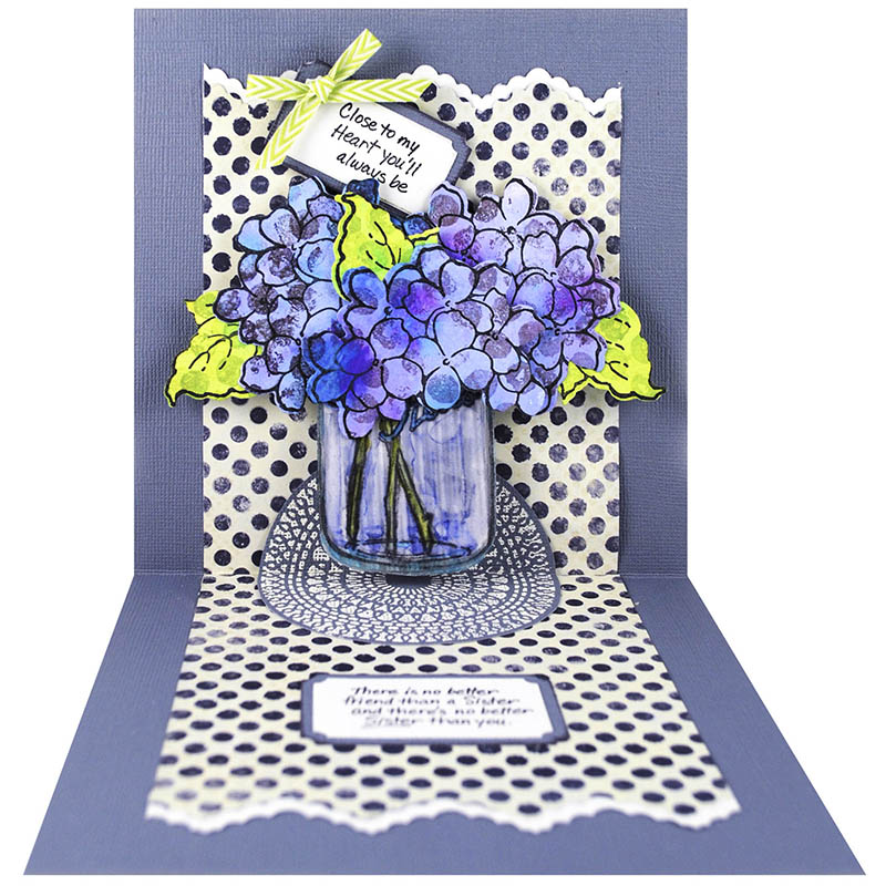 Build a Bouquet Pop Up by Pam Hornschu